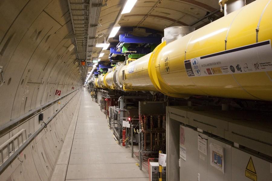 Европейский рентгеновский лазер XFEL начинает свою работу